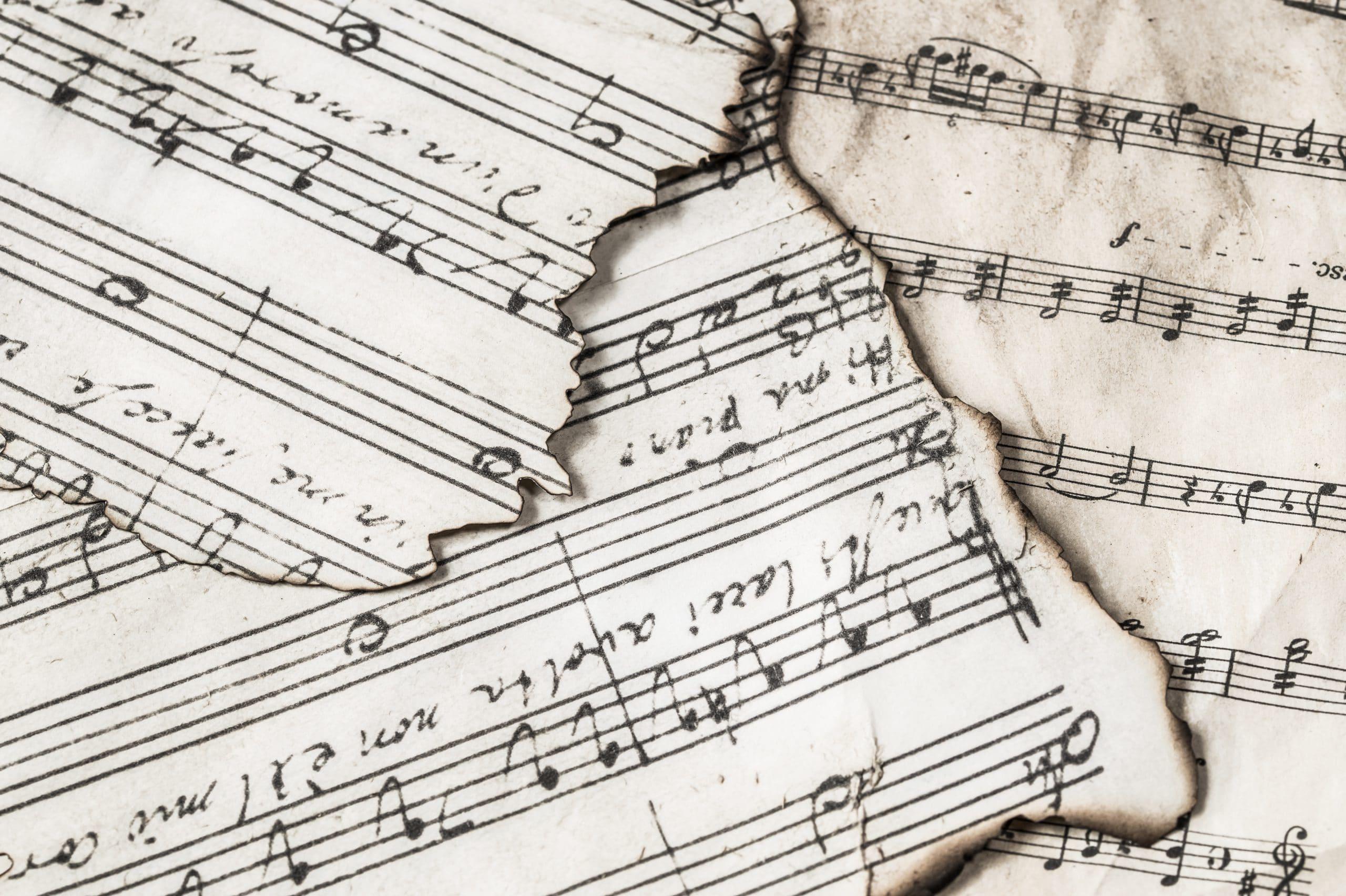 Aan de muziek